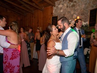 The wedding of Leah and Hunter 1