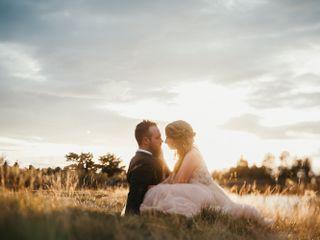 The wedding of Rachelle and Matt