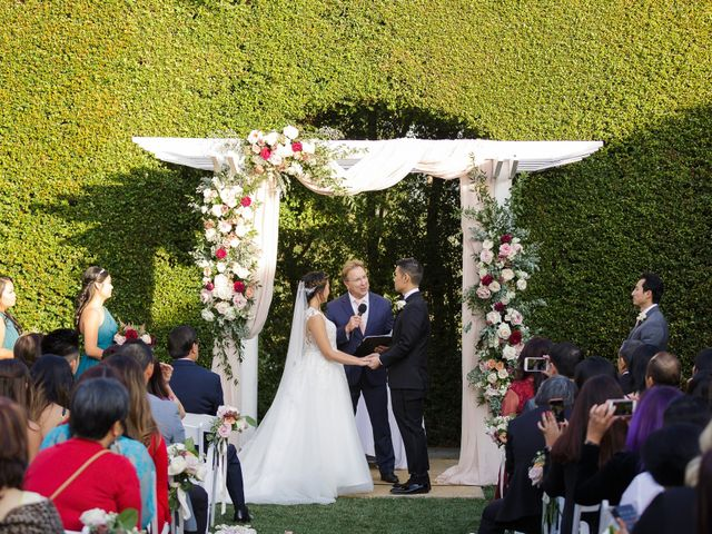 Melissa and Henry's Wedding in Altadena, California 31