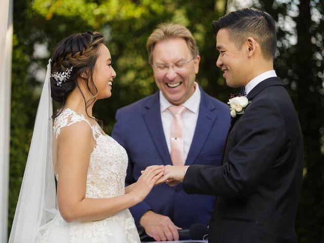 Melissa and Henry's Wedding in Altadena, California 34