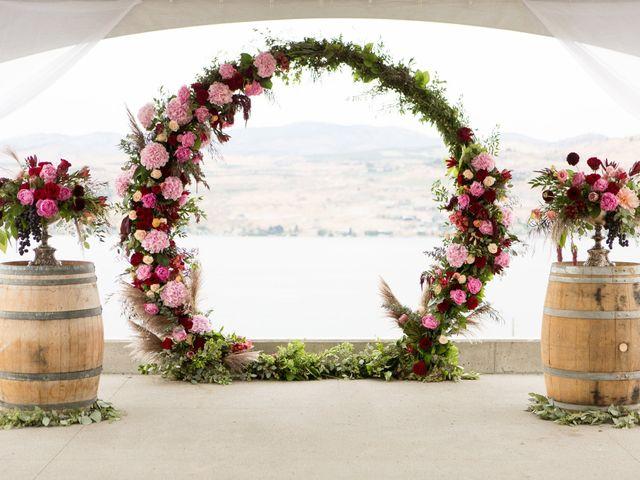 Callan and Jake's Wedding in Chelan, Washington 7