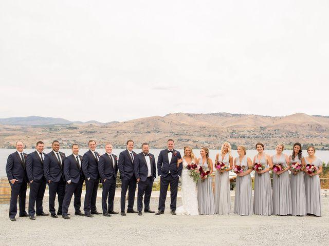 Callan and Jake's Wedding in Chelan, Washington 9