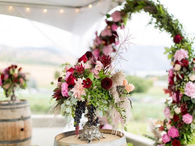 Callan and Jake's Wedding in Chelan, Washington 14
