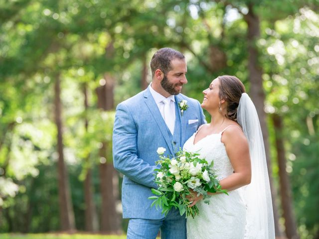 The wedding of Leah and Hunter