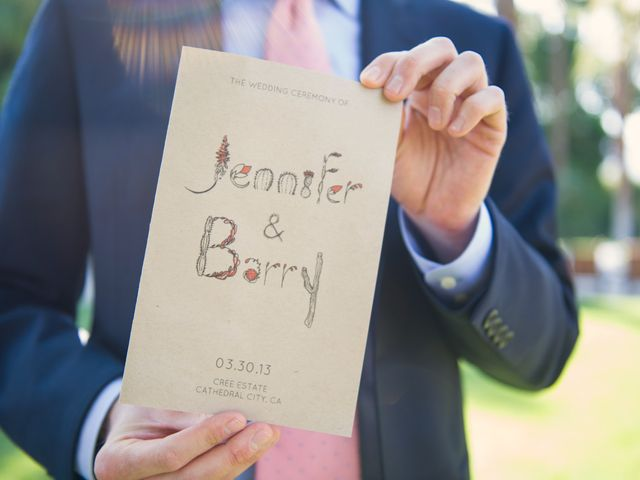 Jennifer and Barry's Wedding in North Palm Springs, California 12