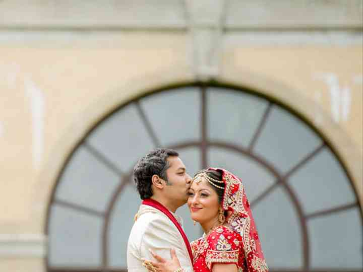 The wedding of Sudip and Rena