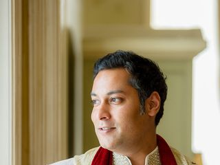 Rena and Sudip's Wedding in Huntington, New York 4