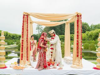 Rena and Sudip's Wedding in Huntington, New York 8