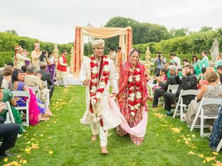 Rena and Sudip's Wedding in Huntington, New York 10
