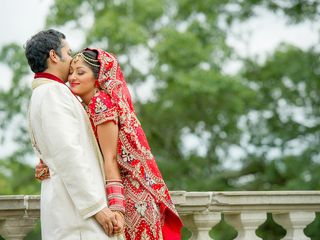 Rena and Sudip's Wedding in Huntington, New York 12