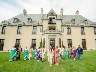 Rena and Sudip's Wedding in Huntington, New York 13