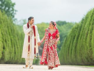Rena and Sudip's Wedding in Huntington, New York 14