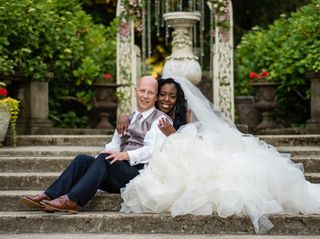 The wedding of Shante and Brian
