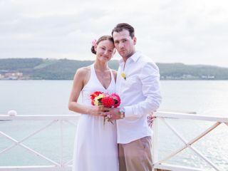 The wedding of Lauren and Andrew