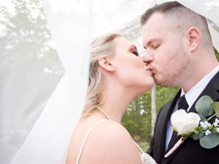 The wedding of Tiffany and Andrew