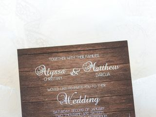 The wedding of Matt and Alyssa 3