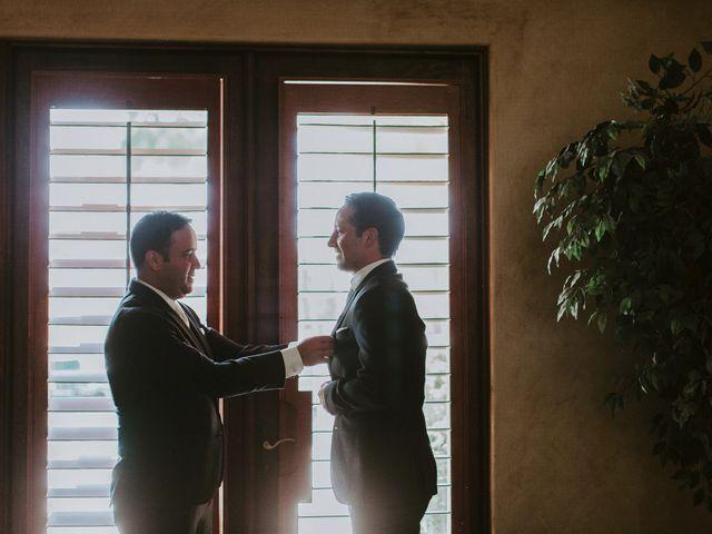 Casey and Matt's Wedding in Indio, California 3