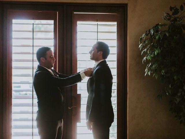 Casey and Matt's Wedding in Indio, California 7