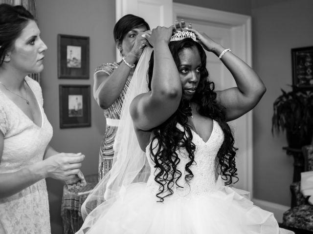 Brian and Shante's Wedding in Lakewood, Washington 8