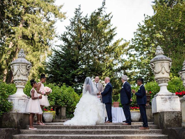 Brian and Shante's Wedding in Lakewood, Washington 1