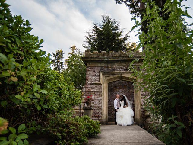 Brian and Shante's Wedding in Lakewood, Washington 2