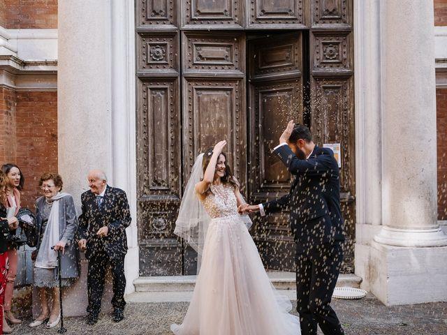 Chiara and Luca's Wedding in Rimini, Italy 34