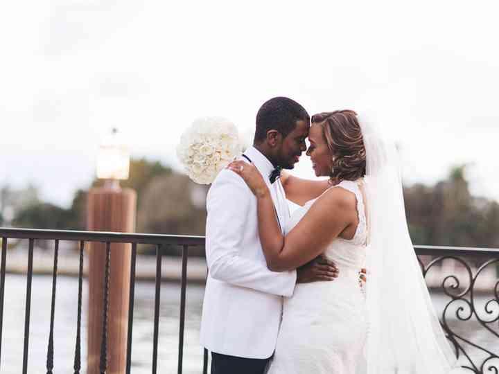 The wedding of Eli and Antoinette