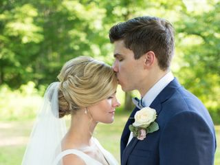 The wedding of Alex Brooks and Ches Brooks 1