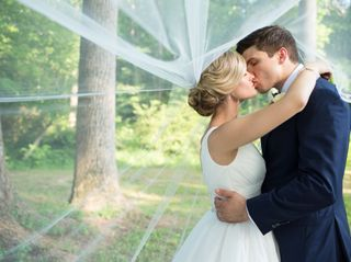 The wedding of Alex Brooks and Ches Brooks