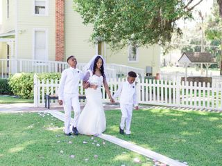 The wedding of Kiera and Amber 1