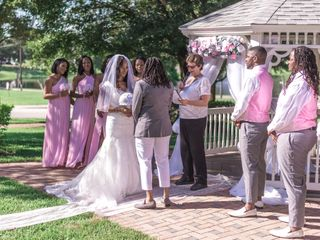 The wedding of Kiera and Amber 2