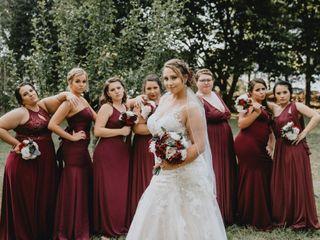 The wedding of Triston and Ashlyn 1