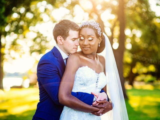 The wedding of Jessyca and Chris
