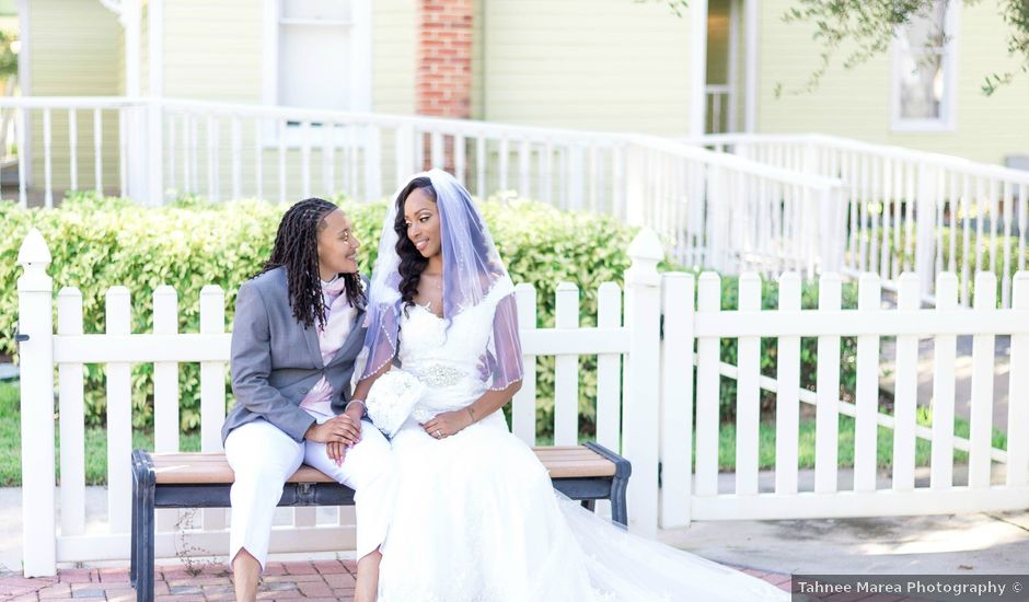 Amber and Kiera's Wedding in Lakeland, Florida
