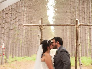 Molly and Bruce's Wedding in Eagle River, Wisconsin 11