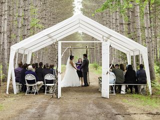 Molly and Bruce's Wedding in Eagle River, Wisconsin 9