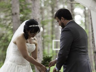 Molly and Bruce's Wedding in Eagle River, Wisconsin 10