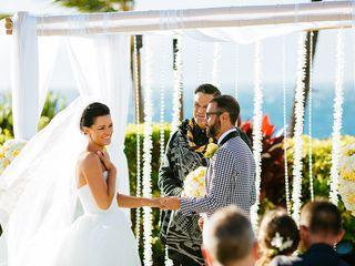 Ina and Luca's wedding in Hawaii 3