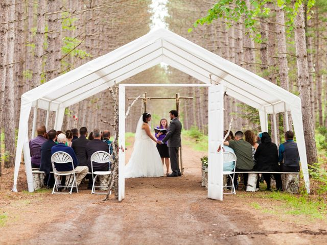 Molly and Bruce's Wedding in Eagle River, Wisconsin 13
