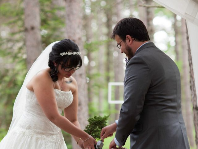 Molly and Bruce's Wedding in Eagle River, Wisconsin 14