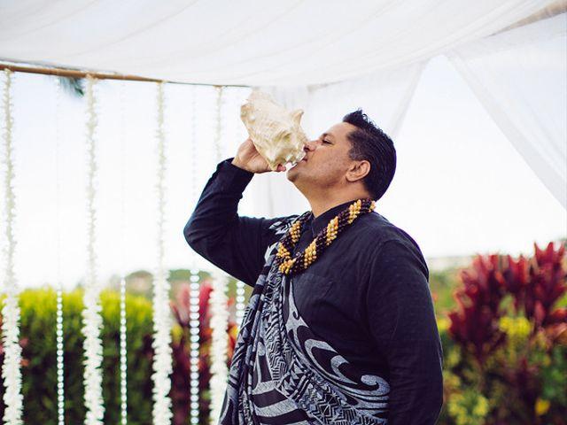 Ina and Luca's wedding in Hawaii 8