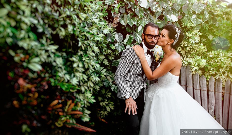 Ina and Luca's wedding in Hawaii