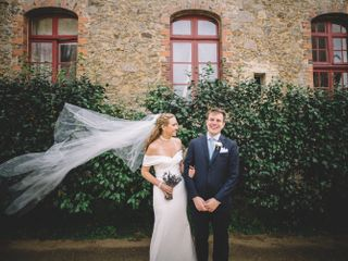 The wedding of Julia and Tom