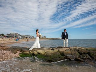 Paul and Kelly's Wedding in Falmouth, Massachusetts 3