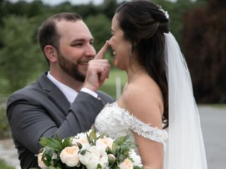 The wedding of Victoria and David
