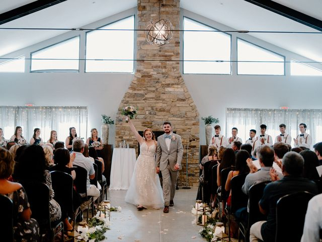 Nate and Hannah's Wedding in Wakarusa, Indiana 11