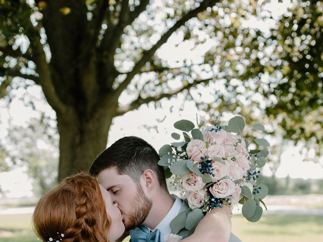 Nate and Hannah's Wedding in Wakarusa, Indiana 13