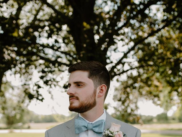 Nate and Hannah's Wedding in Wakarusa, Indiana 16