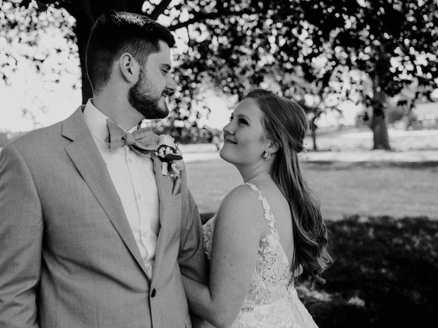 Nate and Hannah's Wedding in Wakarusa, Indiana 17