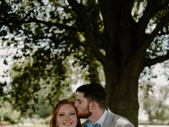 Nate and Hannah's Wedding in Wakarusa, Indiana 19